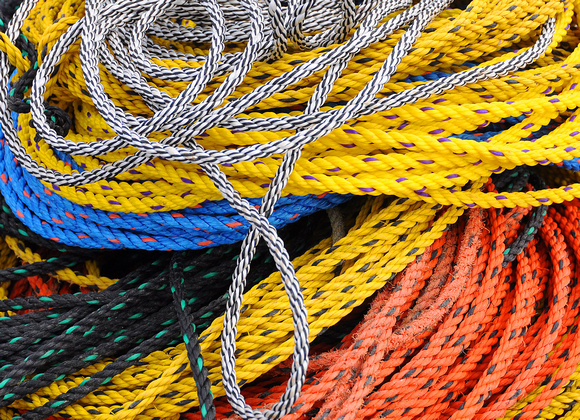 Colorful Fishing Rope