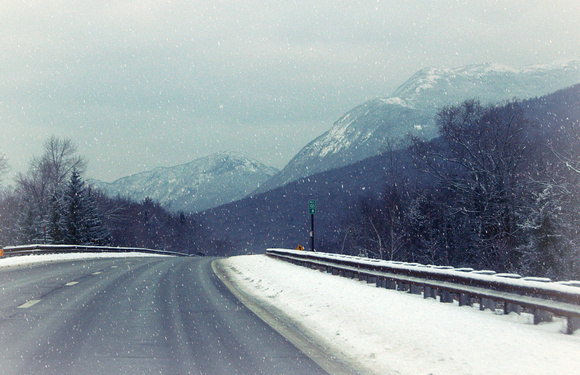Snowy Franconia Notch