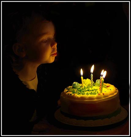 Happy Birthday Baby Jesus Cake Candles