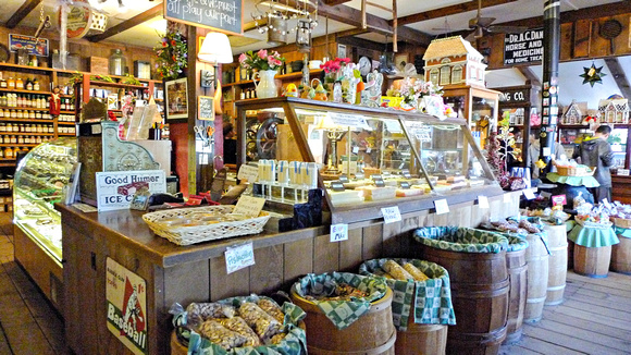 Old Fashioned Candy Shop Outside