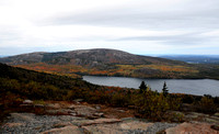 Cadillac Mountain Road View